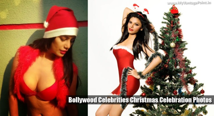 Bollywood Celebrities As Sexy Santa for You As Christmas Gifts