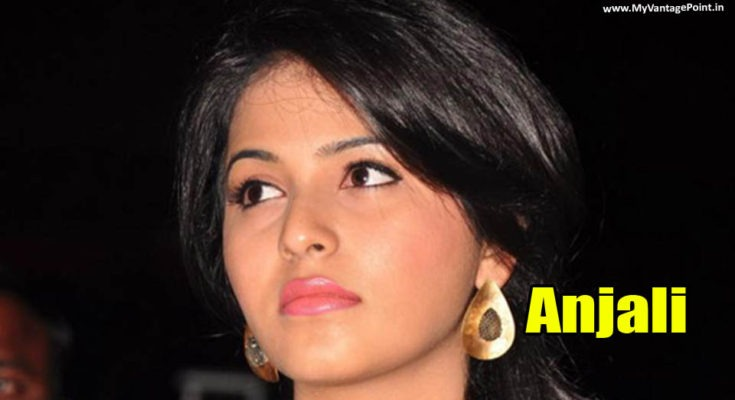 Anjali At Balupu Movie Audio Launch in Sexy Blue