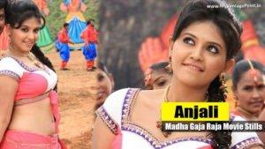 Read more about the article Anjali & Varalaxmi Sarathkumar Hot Stills from Movie Madha Gaja Raja