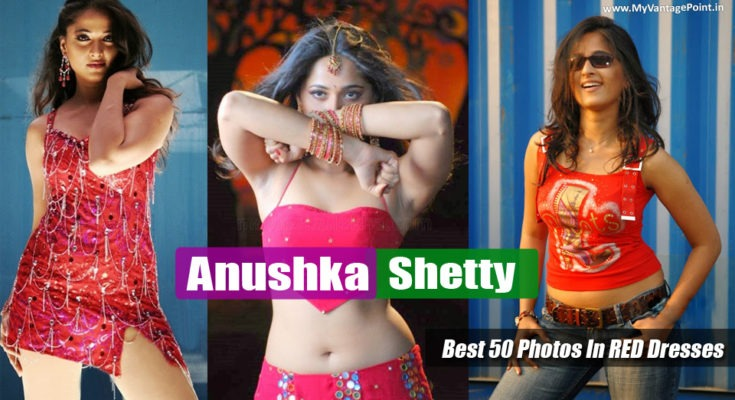 Best 50 Photos of Sexy Anushka Shetty In RED HOT Dresses