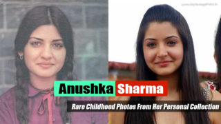 Anushka Sharma's Rare Childhood Photos From Her Personal Collection