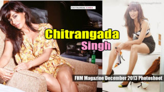 Chitrangada Singh FHM Magazine December 2013 HQ Pictures Full Set