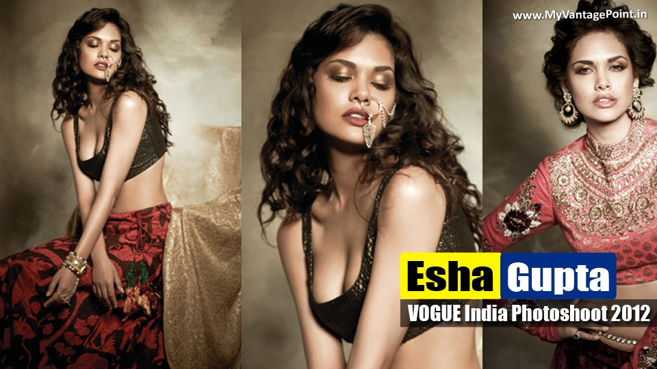 Esha Gupta' Sizzling & Seductive Photoshoot for Filmfare Magazine !!!