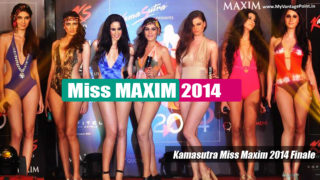 Kamasutra Miss Maxim 2014 finale Hot Models Set The Stage on FIRE !!!