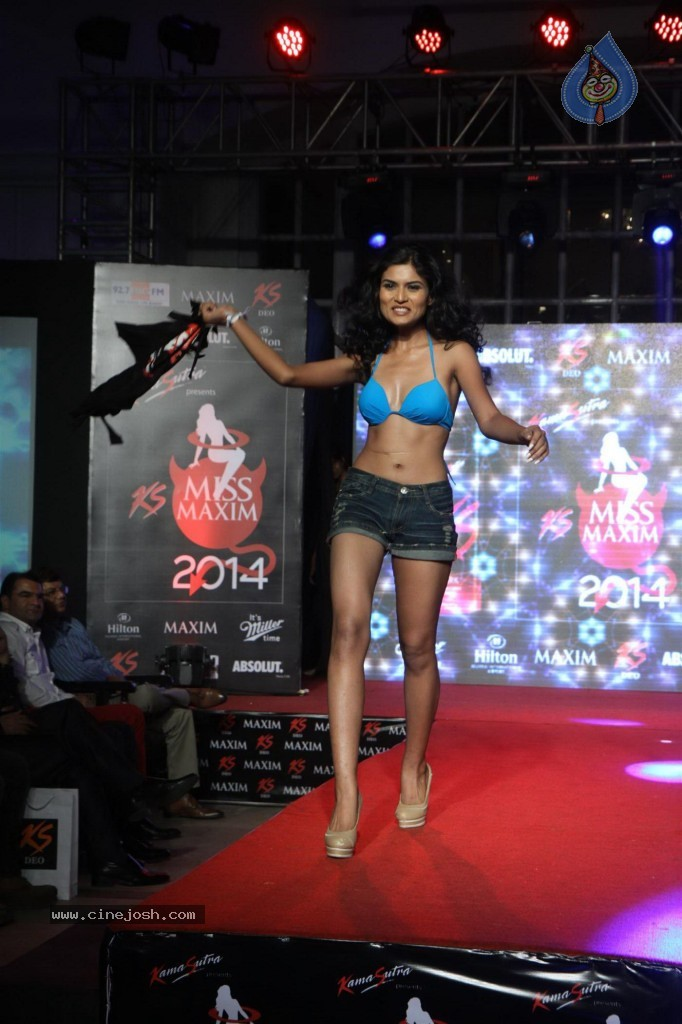 Kamasutra Miss Maxim 2014 finale Hot Models on Ramp - VP (7)