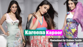 Kareena Kapoor Gorgeous in Traditional Wear For Firdous Textile..!!!