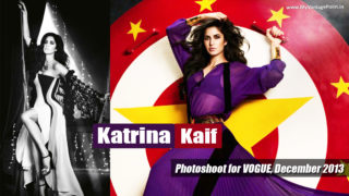 Katrina Kaif Stunning Hot Photoshoot for Vogue Magazine December 2013!
