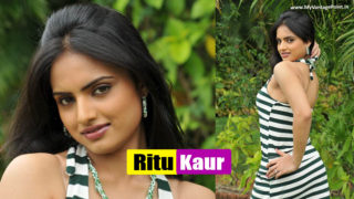 Ritu Kaur Hot & Sexy Photoshoot In Garden
