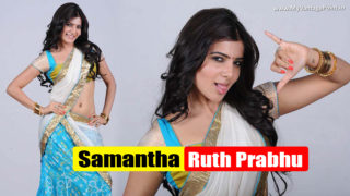 Samantha Hot Pictures in Saree During Her Sizzling Photoshoot