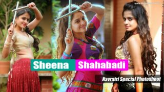 Sheena Shahabadi : South Hottie in Her Navratri Special Photoshoot