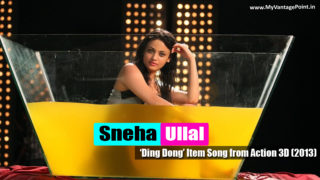 Sneha Ullal Hot Wet Dance Song 'Ding Dong' in Movie Action 3D (2013)
