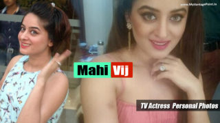 TV Actress Mahi Vij Personal Photos