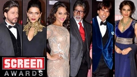 Screen Awards 2013, Bollywood celebrities at Screen Awards, Screen Awards Red Carpet