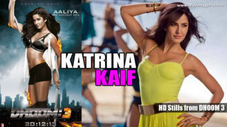Aamir Khan & Katrina Kaif Hot Stills from Dhoom 3 Movie