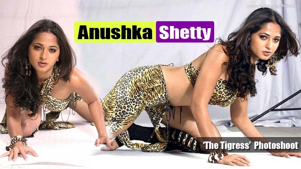 Anushka Shetty – The Most Seductive and Spicy Navel Show Photoshoot by South Hottie