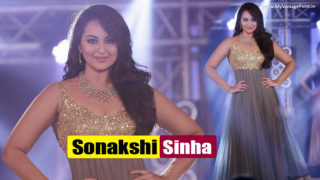 Sonakshi Sinha Sexiest Ramp Walk For A Fashion Show