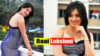 Lakshmi Rai Seductive Hot Photos in A Sexy Dress