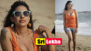 Srilekha Reddy – South Indian Hottie Sexy Show at Beach Photoshoot