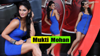 TV Actress Mukti Mohan Spicy Hot Show in Sexy Blue Dress..OMG Watta Babe!!!