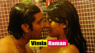 Vimala Raman Wet Sexy Scene Stills in Bath Towel From Her Movie