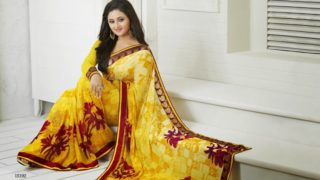 Rashmi Desai TV Actress Known As Tapasya for Daily Shop Uttran in Sexy Saree Collection