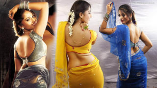 Backshow : Anushka Shetty Hottest & Sexiest Back Photos Collection in Saree & Other Short Dresses..HOT AS HELL!!