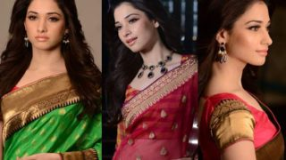 Tamannaah Bhatia's Best Ever Photos in Sexy Sarees