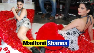 Top 20 Photos of Madhavi Sharma From Her Valentines Day Photoshoot..HOT AS HELL!!!