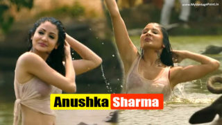 Anushka Sharma Wet In a White Top & Shorts Smoking Hot Caps From Matru ki Bizli ka Mandola