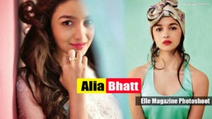 Read more about the article Hot and Young Alia Bhatt latest Elle Magazine Photoshoot