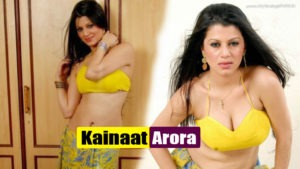 Kainaat Arora Hot Spicy Photoshoot in Yellow Blouse – HOT AS HELL