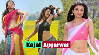 Kajal Aggarwal Latest Hot Sexy Photos in Saree