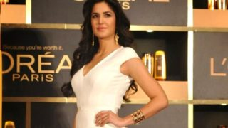 Katrina Kaif Looking Stunning in White Dress in A Recent Event for Loreal