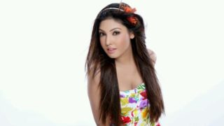 Komal Jha Stunning Photoshoot in Sexy Dress Looking Cute 2014