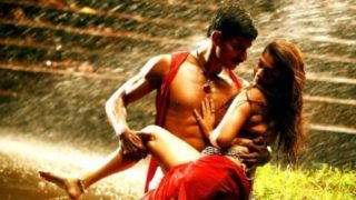 Nayanthara Steamy Wet Dance in Sexy RED Dress in Sathyam Movie song 'Chellame Chellame'