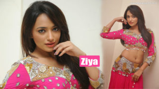 South Indian Hot Actress Ziya Latest Photoshoot in Sexy Pink Dress