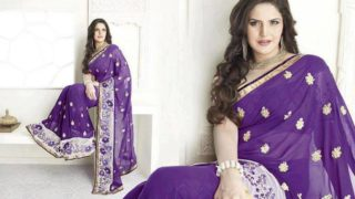 Zarine Khan Looks Stunning In Super Hot Sarees – Gallery