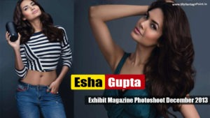 Read more about the article Esha Gupta Hot Exhibit Magazine Photoshoot December 2013 Pictures