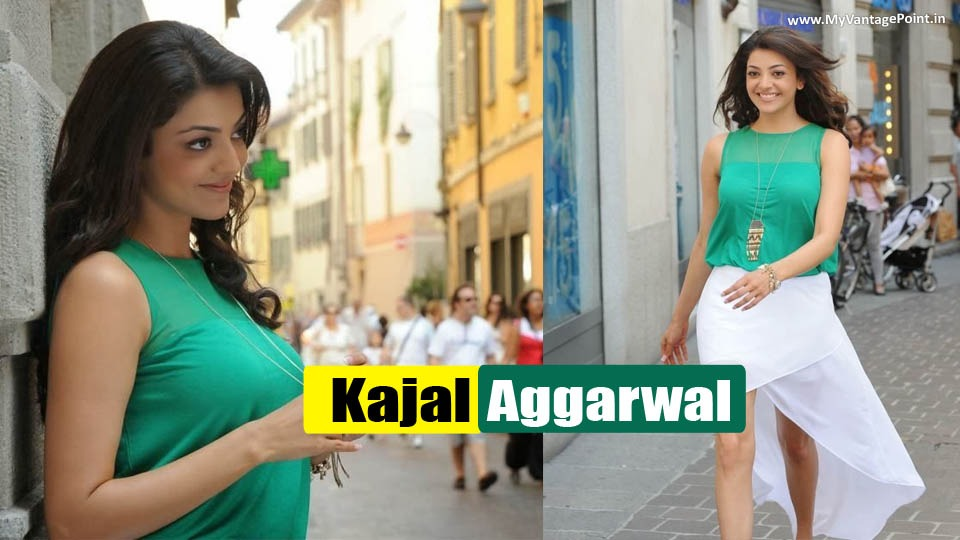 Kajal Aggarwal Latest Sexy Dance Scene Stills in Spicy White Skirt Showing Her Super Sexy Legs