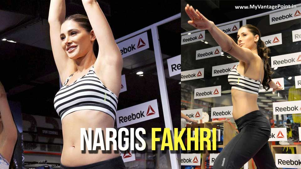 Nargis Fakhri Shows Off Stunning Yoga Moves at ABS-olutely