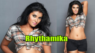 Rhythamika – South Hottie's Stunning Photoshoot in Tight Short n Sexy Top