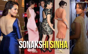 Sonakshi Sinha Sexy Backless Dress Photos