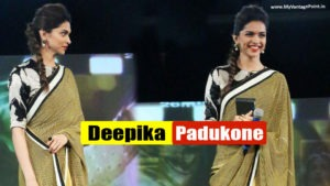 Read more about the article Gorgeous Deepika Padukone In Yellow Saree