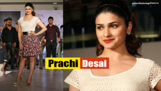 Prachi Desai In Summer Fashion Collection 2014 Ramp Walk of Pentaloon