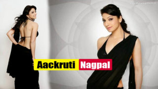 Aackruti Nagpal – New South Hot Actress and Model  Sexy Saree Stills