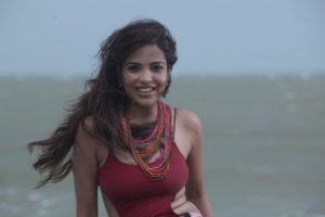 Read more about the article Adonika Rodricks Hot Show at Beach in Red Top & Black Skirt