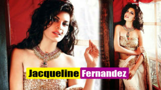 Jacqueline Fernandez – Hi India Magazine (Apr 2014) Photoshoot in Stunning White Saree & Golden Blouse