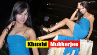 Khushi Mukherjee – Superhot Girl From South Showing How to show sexy Legs in Gown