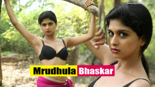 Mrudhula Bhaskar AKA Naveena Spicy Bikini Photoshoot in Jungle