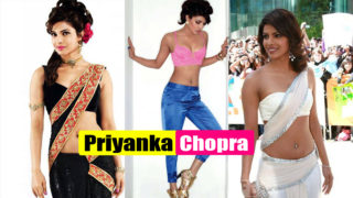 Priyanka Chopra Navel Show – Hot, Tempting, Sexy, Hot As Hell, Naughty